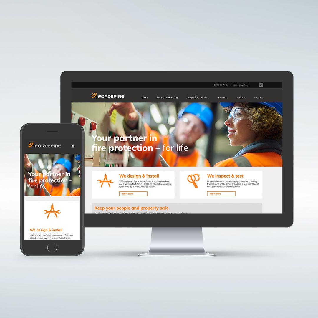 Forcefire Website